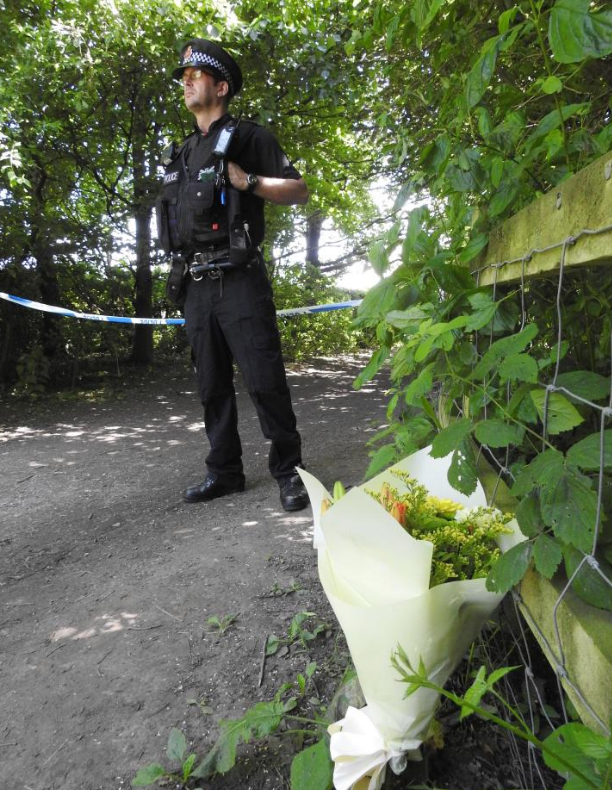 Place where her body was found