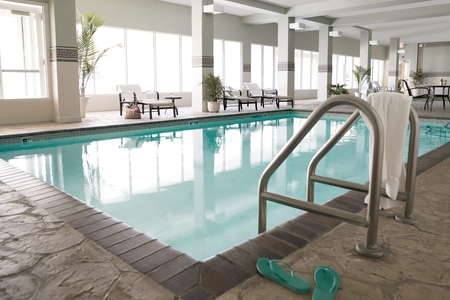 Asheville Hotel's Indoor Pool