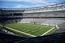 MetLife Stadium                                in                                 East Rutherford                                , home to the NFL's New York Giants and New York Jets.                                                   [161]