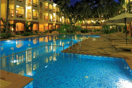 Hotel Pool at Country Inn & Suites Candolim, Goa