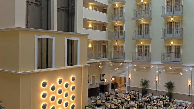 Hotel Interior Atrium