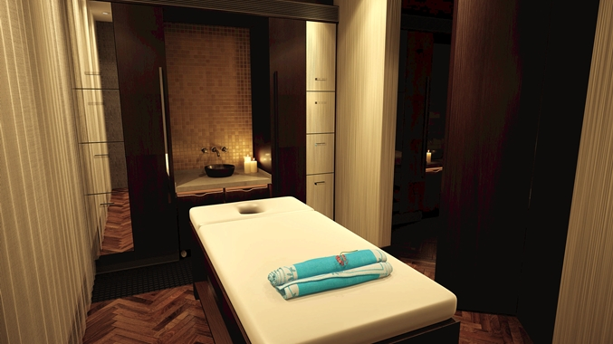 Hotel Spa Therapy Room