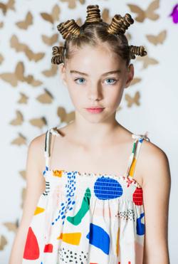 Jade Weber modeling for                               Hooligans Magazine