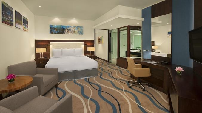 One Bedroom Suite Master Bedroom