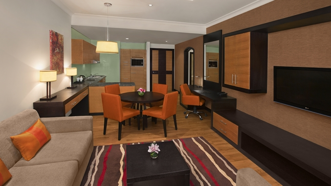One Bedroom Apartment Livingroom