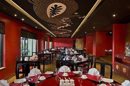 Jaipur Hotel's Dragan Restaurant