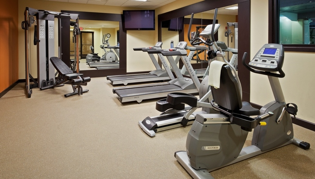 Country Inn & Suites, Meerut Hotel's On-site Fitness Centre