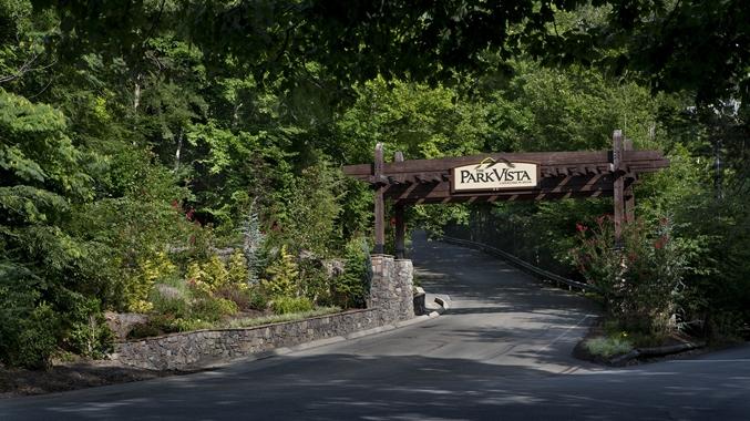 Entrance to the Park Vista