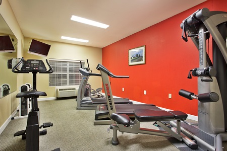 Hotel in Pearl, MS with Fitness Center