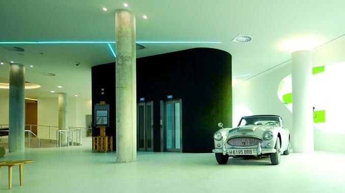 Hotel Lobby Elevators