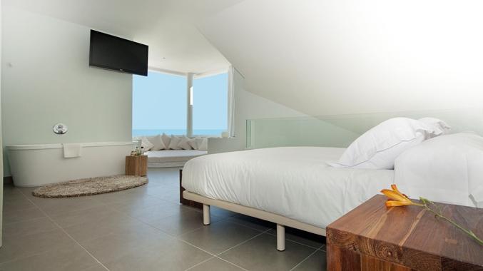 King Duplex Suite Bedroom