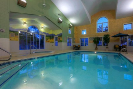 Indoor Hotel Pool in Roanoke