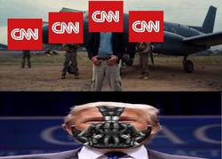 CNN vs. Trump Baine