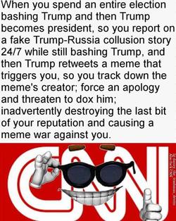 Polliball meme ofCNN