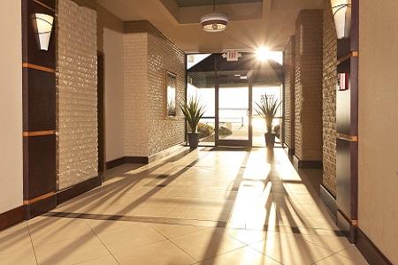 Modern and Welcoming Virginia Beach Hotel Lobby