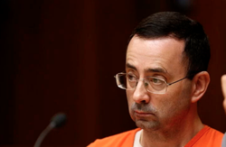 Photo taken of Nassar while he was in court.