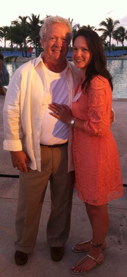 Photo of Sachiko with her husband Ray