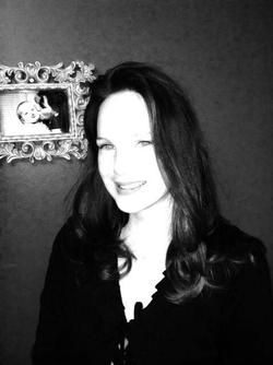 Black and white photo of Sachiko