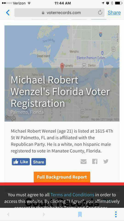 Michael Wenzel's voting record
