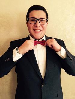 Ibrahim Ibrahim in a bow-tie