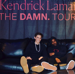 Anton and Kendrick Lamar