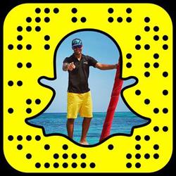 Yannick on                               Snapchat                              