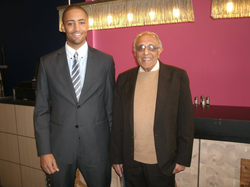 Yannick van den Bos and Ahmed Kathrada​