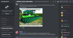 John Deere running over protesters meme