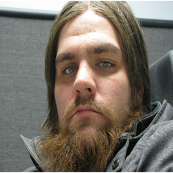 Close up photo of Josh that's used on the website that reveals he is a sex offender.