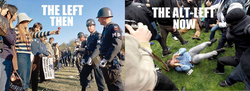 The left then vs the alt left now