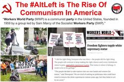 Info meme of the alt left