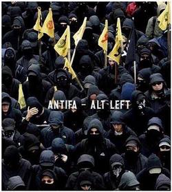 Wquating antifa with the alt left