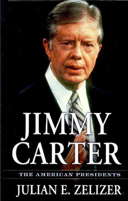 "Cover of Julian's book, ""Jimmy Carter"""