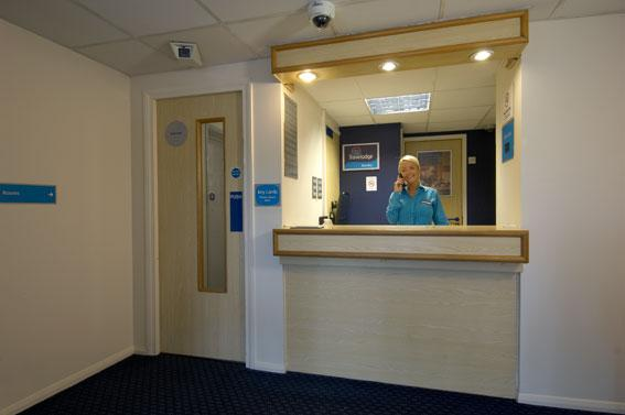 Burnley - Hotel reception