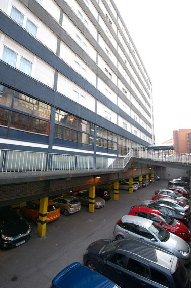 Manchester Central - Hotel car park