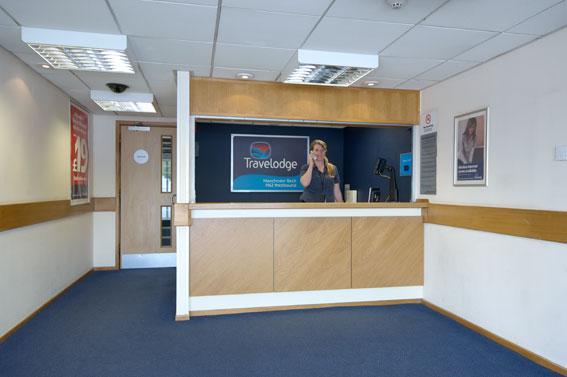 Manchester Birch M62 Westbound - Hotel reception