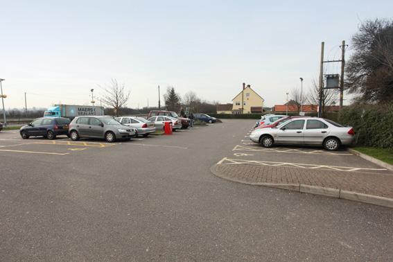 Colchester Feering - Hotel car park