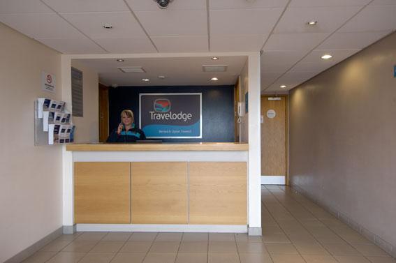 Berwick upon Tweed - Hotel reception