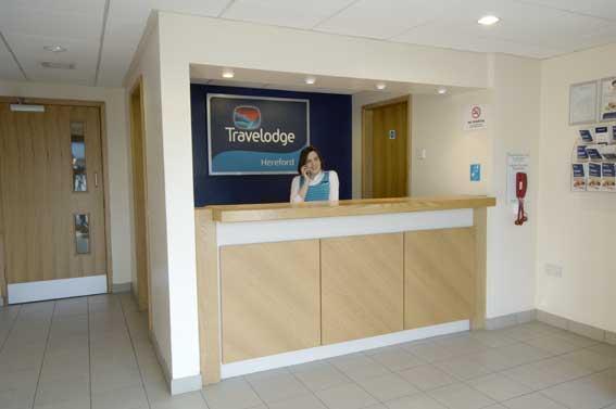 Hereford - Hotel reception