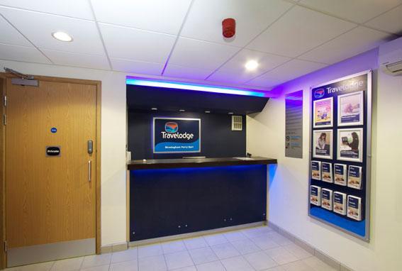 Birmingham Perry Barr - Hotel reception