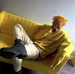 Lil Tracy with Yellow Hair