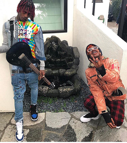 Lil Tracy with Famous Dex