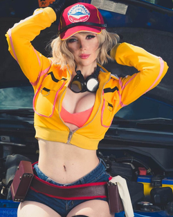 Katyuska Moonfox as Cindy from Final Fantasy