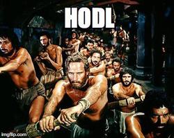 Ben-Hur                               HODL Meme