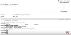 Screenshot of Rich and Sara Piana's annulment (August 18, 2016)