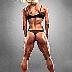 Sara Piana's butt (also her profile picture)