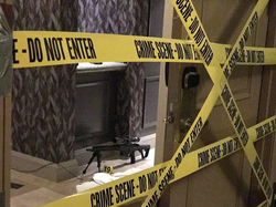 Firearm in the hotel room