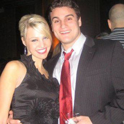 Peter Buchignani with his wife, Carley Shimkus​