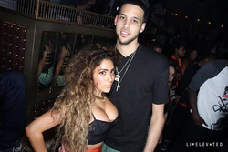 Nikki Mudarris and her then-boyfriend Austin Daye (an NBA basketball player)
