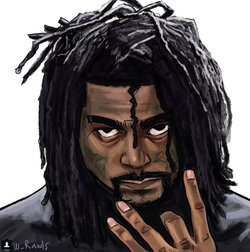 Photo of                               03 Greedo                              as a caricature.